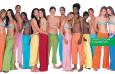 Benetton  Benetton's '90s boom came from their awesome rugbys and controversial ad campaigns featuring AIDS patients, bloody newborn babies, and other grotesque imagery to prove that in the end, people of all races are equal.