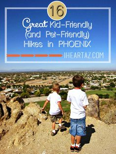 16 Kid-Friendly (and Pet-Friendly) Hikes in the Phoenix Area. The weather is perfect for getting outside. Take your favorite short-legged friend out for a hike or trail walk with our list of 16 great spots. There is something on this list for everyone, even if you don't have kids OR pets!