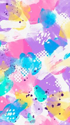 Watercolor and paint textures 🖌 | Collection