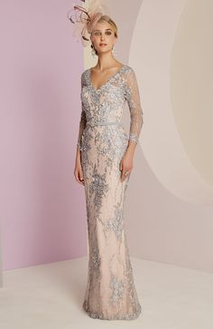 Veni Infantino Wedding Outfit - Colour Platinum & Antique Rose - Price Buy online today with next day delivery - money-back guarantee. Wedding Outfits For Groom, Mother Of Bride Outfits, Mother Of Groom Dresses, Mothers Dresses, Mother Of The Bride, Wedding Dresses, Perfect Prom Dress, Beautiful Prom Dresses, Beautiful Outfits