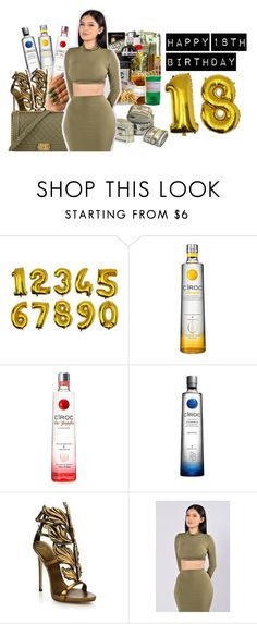 """#89: Let's Party Like We Grown!"" by chilly-gvbx on Polyvore featuring Giuseppe Zanotti and Chanel"