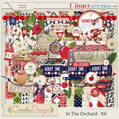In the Orchard Kit by Cornelia Designs http://store.gingerscraps.net/In-The-Orchard-Kit-by-Cornelia-Designs.html