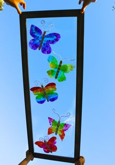 Stained-Glass Butterfly Craft Kit