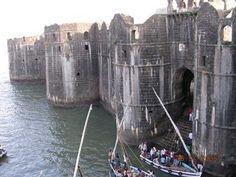 Murud-Janjira fort in India