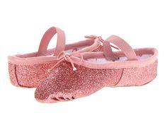 6d07d381b Bloch Kids Glitterdust Ballet Slipper (Toddler/Youth) Gold - Zappos.com  Free Shipping BOTH Ways