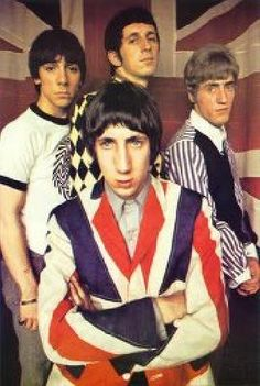 You can't ignore the influence of bands like The Who in the 60s.