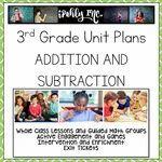 Addition Math Lesson Plans, Math Lessons, Fractions, Multiplication, Problem Solving Activities, Math Activities, 3rd Grade Math Worksheets, Math Classroom, Classroom Ideas