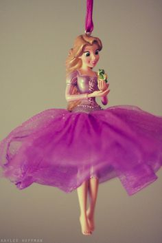 Adorable Rapunzel ornament. The tutu style really suits her.