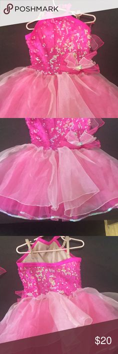 Toddler costume Toddler size small pink ballet costume with matching hair clip Costumes Dance