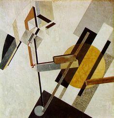 Proun 19D lissitzky 1922