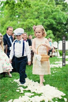 ring bearer and flower girl outfit ideas | CHECK OUT MORE IDEAS AT WEDDINGPINS.NET | #weddings #flowergirls #ringbearers