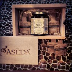 What Aseda dreams are made of. Aseda Wild Honey gift box for someone you love. Aseda means Gratitude