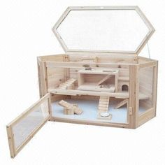 New Design Wooden Hamster Cages for Sale