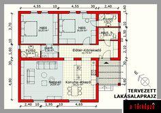 Anya hozzám költözik! 3d House Plans, Living Room Designs, Tiny House, Floor Plans, Flooring, How To Plan, Sims, Houses, Inspiration