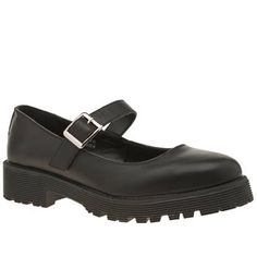 Schuh Black Algebra Womens Flats 90s grunge arrives for present day, in the form of the Algebra from schuh. The faux-leather shoes arrive in all-black, featuring an adjustable ankle strap as a nod to the classic Mary Jane profile. A  http://www.MightGet.com/january-2017-13/schuh-black-algebra-womens-flats.asp