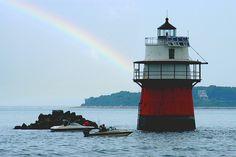 Duxbury Pier Light, Plymouth Bay, Massachusetts