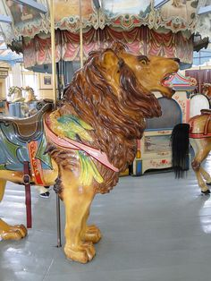 Roar Historic Dentzel Carousel in Meridian, MS: My grandparents used to bring me here. Meridian Mississippi, Mississippi Mud, Abandoned Amusement Parks, Abandoned Places, Delta Girl, Painted Pony, Merry Go Round, Carousel Horses, Park Hotel