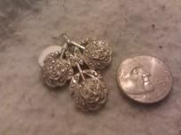 """Sterling silver .925 charm  Perfect condition  Clearly """"Sterling Theda""""    $17.00"""