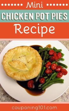Mini Chicken Pot Pies Recipe - Easy and delicious weeknight dinner idea!
