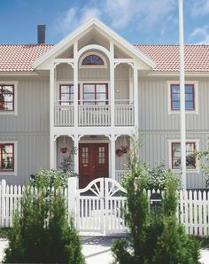 Die Schweden können es einfach... Wunderschöner Eingangsbereich.