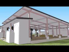 Berikut ini adalah salah satu dari belasan gambar atau contoh musholla yang kami disain untuk melengkapi disain site plan yang telah kami r... Gazebo, Outdoor Structures, Kiosk, Pavilion, Cabana