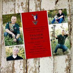 eagle scout court of honor invitation idea