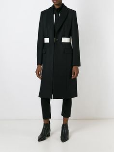 Women - Givenchy Banded Overcoat - Tessabit.com – Luxury Fashion For Men and Women: Shipping Worldwide