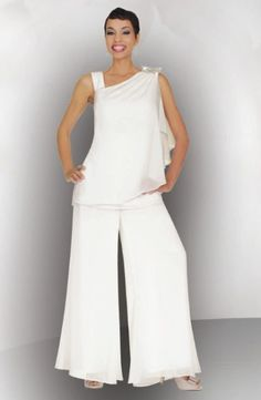 BenMarc Stacy Adams 78349 Womens Pant Suit --PERFECT for the bridal luncheon or a bridal tea with a hat!