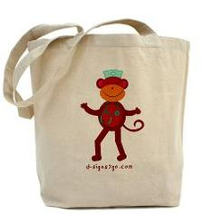 Cute tote bag for nurses. Show your appreciation on Nurse's Day and Week!