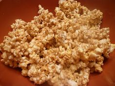 Pumpkin Spice Marshmallow Popcorn for the best holiday treat ever!