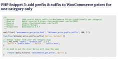 Woocommerce Adding a Prefix to Product Prices
