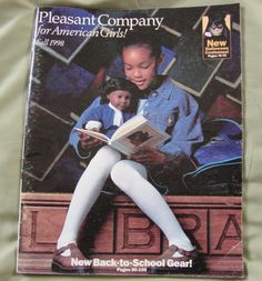 Fall 1998 | 10 American Girl Doll Catalogs From Your Past