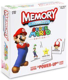 Memory Challenge Super Mario Game