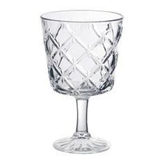 IKEA - FLIMRA, Copa de vino, La copa tiene un gran cáliz que contribuye a que los aromas y sabores del vino se volatilicen y se aprecie mejor su calidad.