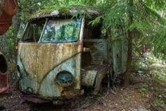 Abandoned Cars In Forest Bastnas car graveyard: sweden's vast vehicle ...