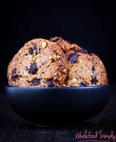 Choc Chip Crunchy PB Cookies
