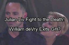 General Hospital Spoilers: Liv Shoots Julian Trying To Save Alexis on Bridge - William DeVry Leaving GH?   Celeb Dirty Laundry