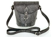 #Zatchels Barrel bag in Gothic Lace #black #lace