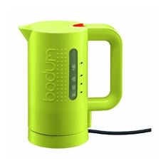 I saw want this for my office! Cordless mini electric kettle.