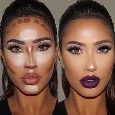 Make up contouring, how to contour, face contouring makeup, contouring Makeup Contouring, Contouring And Highlighting, Skin Makeup, Strobing, Contouring Products, Easy Contouring, Contouring For Beginners, Contour Face, Makeup Ideas
