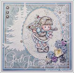 Her er to Bildmålarna julekort som må få komme på plass i bloggen, før jeg legger jula til side:)