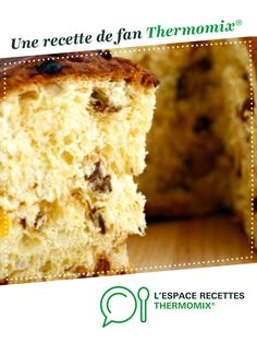 PANETTONE by A fan recipe to find in the Desserts & Confectionery category on www.espace-recett …, of Thermomix®. Cooking Recipes For Dinner, Summer Dessert Recipes, Cooking Chef, Healthy Dessert Recipes, Baking Recipes, Cooking Steak, Cooking Turkey, Croissants, Dessert Thermomix