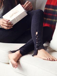 Button Up Leggings