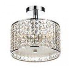 Bathroom crystal light!