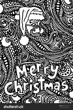 989 Best Adult Colouring Christmas Easter Zentangles Images In