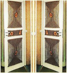Vintage Macrame 1970's Pattern to make Super by ickythecat on Etsy