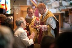 Father Noah Carter celebrated his first Mass June 29, at St. Barnabas Church in Arden. The Mass was celebrated in the Extraordinary Form.