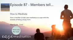 - Eating Weight - Chewing - Without Music - by Ease Meditation Meditation Videos, Guided Meditation, Dealing With Anger, Feeling Thankful, Anger Issues, Feeling Overwhelmed, Eating Well, How To Fall Asleep, Body Care