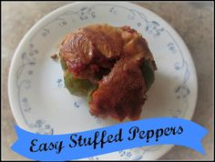 Easy Stuffed Peppers Recipe -That one ingredient makes a difference!