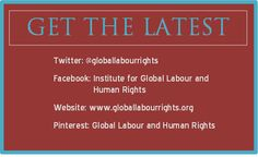 Stay up-to-the-minute with news from the Institute!  Check us out on Facebook, Pinterest, Twitter, and our website! Labor Rights, Union Made, Before Us, Human Rights, Food For Thought, Fair Trade, Favorite Quotes, Grateful, Thoughts